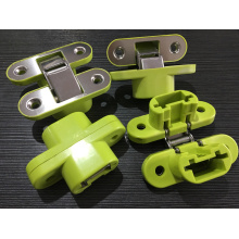 Household Accessories SS304 Plastic Concealed Hinges