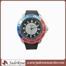 Venda por atacado e relógios de pulseira de silicone à prova d'água
