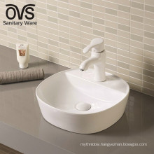 wholesale top mount single bowl bathroom sink