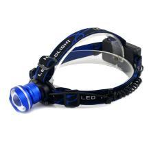 10W Super Bright Aluminum 18650 Rechargeable Headlamp