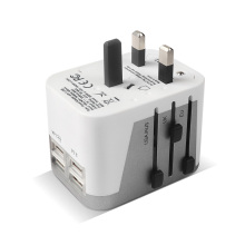 Portable World Universal Adapter 4 ports USB