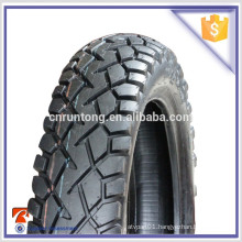 Rubber tubeless motorcycle tire 110/90-16