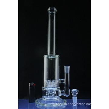 10 Sprinkler Barrel Perc Hookah Glass Smoking Water Pipe (ES-GB-578)