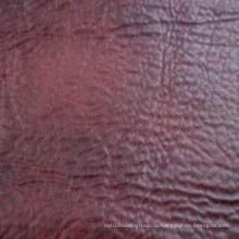 2016 Оптовая 100% полиэфирная синтетическая кожаная ткань от фабрики