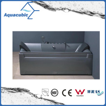 Rectangle ABS Board Whirlpool Bathtub in Gray (AB0812A)