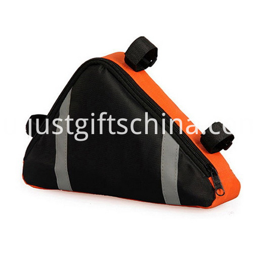 Promotional Waterproof Polyester Bicycle Bags Triangle Shaped (2)