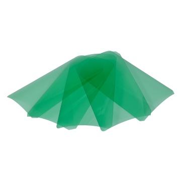 Plástico flexível com tampas para copos PET