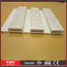 White Wood Plastic Composite Wall Siding