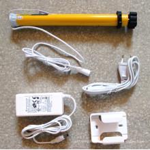 Tela de projeção motor cortador de mel cortinas motor motor tubular cego