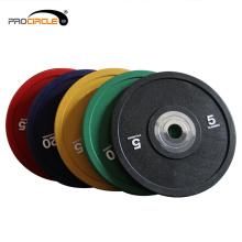Professionelle Gummi-Stoßstange Barbell Bumper Plate