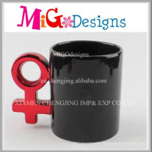 OEM Handmade Glazed Black Ceramic Coffee Mugs