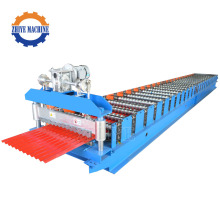 Galvanized Corrugated Steel Sheet Making Roll Former Machine