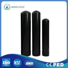Water Filtration Systems Black Color FRP Water Tank