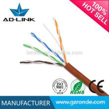 Cable trenzado del cable de Ethernet del gato 5 de alta frecuencia 350MHz