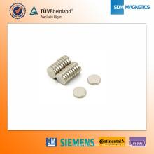 Imán de neodimio N42 D10 * 2 mm