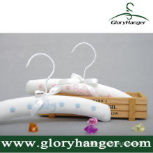 White Stain Padded Hanger for Children