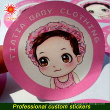 2014 nouvelle mode mignon amovible lavable PVC vinyle enfants imprimable Stickers muraux de fenêtre, Disney approuvé usine