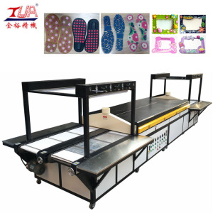 Two Channel PVC Shoes Sole Baking Machine
