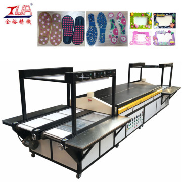 Plastic Shoe Sole Production line with Heating