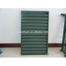 china 6063 Powder Coating Aluminium Shutter Window