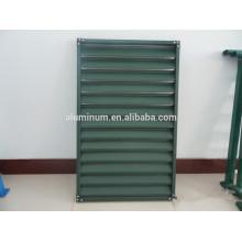China 6063 Revestimento em Pó Janela de Obturador em Alumínio