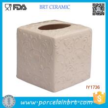 Keramische Mode Tissue Box Rosa Blossomy Muster Home Decor
