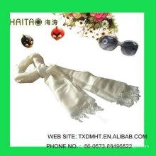 Estilo sólido clásico de seda, accesorios de moda,