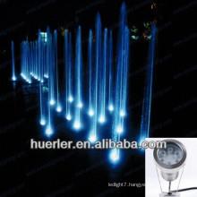 2013 hot sale 9w 12w ip68 RGB led underwater light, water fountain pump light