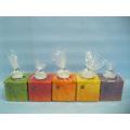 Pumpkin Candlestick Shape Ceramic Crafts (LOE2366C-7z)