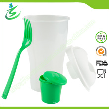 800ml Salad Shaker Cup with Custom Logo