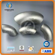 Colocación de tubo del codo del acero inoxidable 90d Lr con TUV (KT0289)