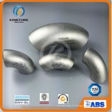 Raccord de tuyau de coude d'acier inoxydable 90d Lr avec TUV (KT0289)