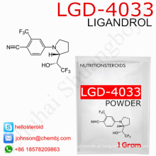 Fornecendo o pó profissional Lgd-4033 / Ligandrol de 1165910-22-4 Sarms para o desperdício do músculo