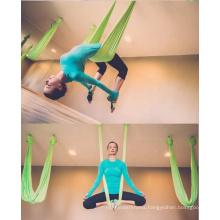 JW Different colors High Strength Nylon Anti-gravity Fly Yoga Hammock Waterproof Yoga Hanging Chair Military Hammock
