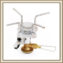 Ultralight Outdoor Camping Stove Cookout Butane Burner Gas-Powered Stove with Box