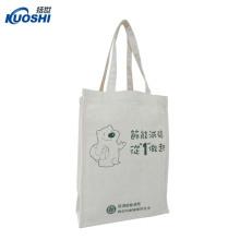 Bolsas de algodón orgánico barato con sublimación de tinte de bolsillo