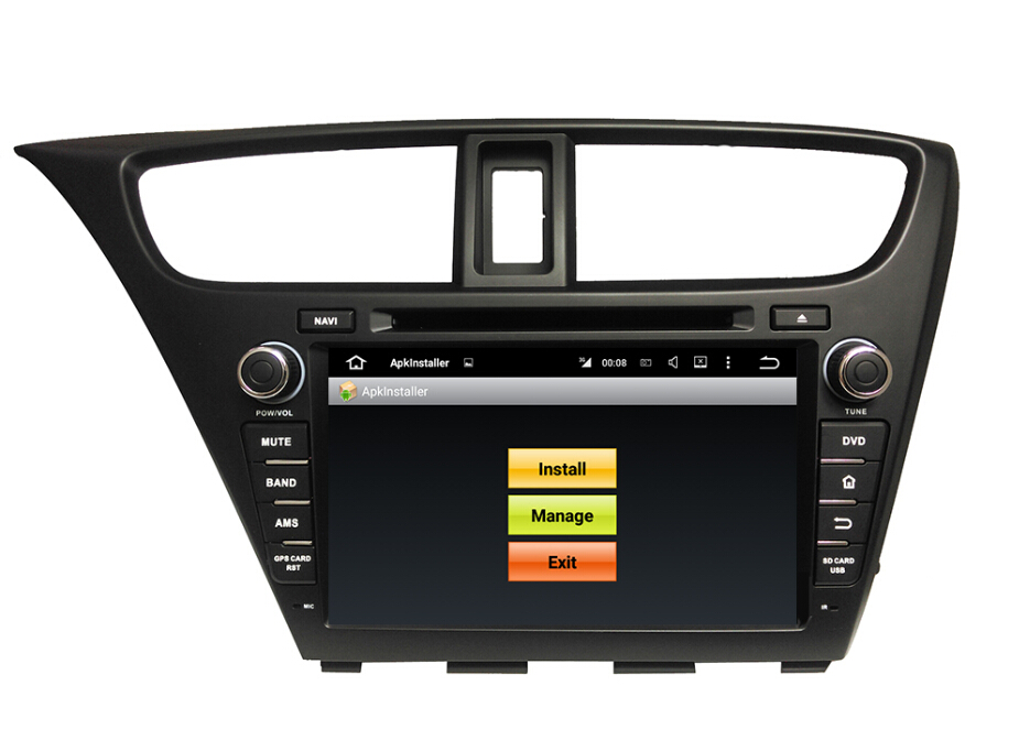 GPS Car dvd for Civic 2014 Hatchback