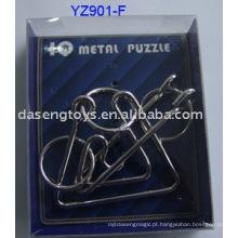 Quebra-cabeças de conexão de metal