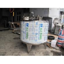 Fabrikpreis Sanitärmantel aus Edelstahl mit Rührwerk