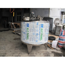 Factory Price Sanitary Jacketed Stainless Steel Mixing Heating Tank With Agitator
