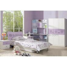Meubles en bois de chambre à coucher d'enfant pour la fille (WJ277363)