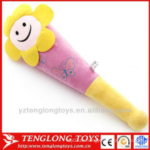 Peluche de juguete fábrica de felpa flor de masaje de sol palo