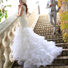RSM6683 high neck sexy wedding dress image white bridal gown wedding dresses