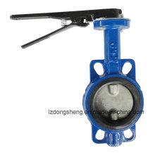 Válvula de borboleta de assento macio da bolacha D71X