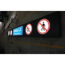 Acryl-Richtungsbeschilderung der Parkplatz-Decken-LED