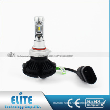 X3 H7 9005 9006 H10 9012 H8 H11 H16 PSX24 P13W 6000LM 25W PHI-ZES DC9V Single White Beam Fanless Car acessories Parts