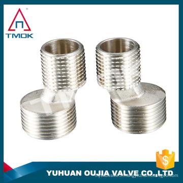 Accouplement rapide liquide 1 pouce de haute qualité avec matériau cw617n avec vanne de régulation forgée PN 40 et DN 20