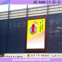 Panneau d'affichage à LED d'intérieur P6 sur le centre commercial