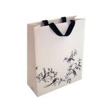 zhejiang china wholesale custom recycle white cardboard Brown  shopping t-shirt women paper bags
