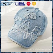 La fuente de la fábrica pide el casquillo plegable del vaquero / los sombreros 2016 de la promoción